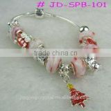 Popular bangles for Christmas gift decoration crystal bangle bracelet                                                                                                         Supplier's Choice