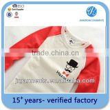 Garment Factory 100%cotton child clothes Long sleeve t shirts Clothing Bulk Wholesale / China supplier