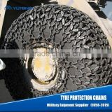 protection chains on tyre