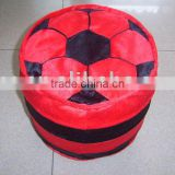 JM7766 plush inflatable chair with football shape