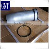 low price PC200-5 TURBO CHARGER TUBE 6207-61-5631 for excavator engine parts