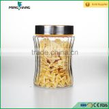 1200ml round food storage wholesale jam jars cheap glass jars