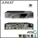 JUNUO shenzhen manufacture OEM 2016 new strong signal H.264 hd 1080P mstar USA ATSC digital tv receiver