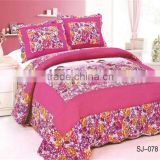 Patchwork Embroidery Quilted Bedding Sets Manufacturer Hot Sale                                                                         Quality Choice
