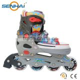 Soft Boot Roller Skates Shoes for Adults With Competitve Price Plasctic Frame Duarable PU Wheels
