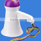 5w portable cheerleading megaphone toy