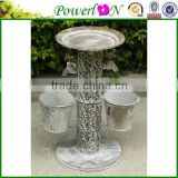 Discounted Metal Bird Freeder Plant Pot Garden Ornament For Patio Backyard I29M TS05 X00 PL08-6141