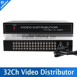 16 to 32CH AHD/CVI/TVI CameraBNC Output,Max Up to 600M Distance 32CH TVI Camera Video Splitter