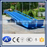 10 ton manual hydraulic forklift loading ramp