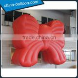 giant inflatable red bowknot / inflatable replica model for decoration                                                                                                         Supplier's Choice