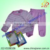 new product for 2013 newborn baby clothes set with footed legging