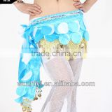 Belly Dance Costumes Sexy Tribal Sequins Handmade Hip Scarf,Belly Dancing Performance Outfit, Dance Hip Scarf (YL065)