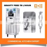 2016 Gravity Feed Twin Twist Flavor Competitive Prices Our Soft Icecream Making Machine