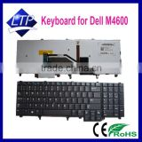 Genuine new laptop keyboard for dell precision m4600 m4700 m6600 german black with backlit