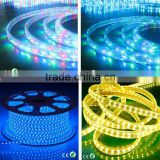 110V 220V High Voltage 60LEDs/Meter brightest thin neon flex strip light 5050 led 110v flat 5 wires led rope light