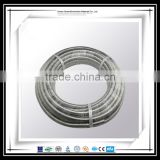 stainless steel 304/316l type annular metal flexible plumbing hose pipe for heat exchanger