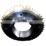 Fixed steel worm gear carbon frame