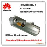 Original Unlock LTE FDD 100Mbps HUAWEI E398 4G LTE USB Dongle Support LTE FDD 900/1800/2100/2600MHz