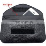 Newest item anti-radiation signal blocking bag rfid pouch case for cell phones