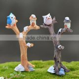 garden supplies accessories~Home Decor extra tiny Collectible Animal figurines - miniature bird fairy miniature bird figurines
