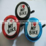 Dangdang i love my bike bicycle bell