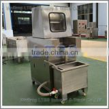 Brine injection machine for meat