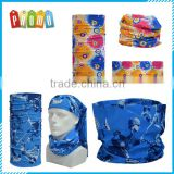 Wholesale custom printed seamless sport bandana neck tubular, multifunctional seamless head scarf
