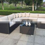 High Quality Outdoor Furniture Poly Rattan Sofa Set