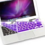 "Colorful Silicone Keyboard Cover for Macbook 11-15.4"" keyboard dust cover"