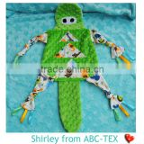 48% Off Super Soft Minky Crocodile Look Cartoon Animals Blankets For Baby Comforter SHB15092501