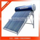 Flat plate hanging solar water heater, portable water solar heater, balcony solar water heater