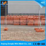 China wholesale merchandise galvanized retractable portable outdoor privacy temporary fence