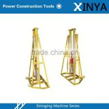 5 Ton/10 Ton Professional Cable Reel Stand,High Performance Cable Drum Stand,Cable Jack Stand