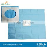 medical disposable sterile surgical drape with hole