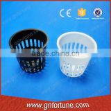 Different size of hydroponic basket for NFT channel