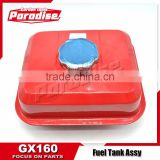 5.5HP GX160 168F 2900H Gasoline Small Engine Water Pump Fuel Tank Spare Parts
