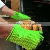 FDA food grade Kitchen Heat Resistant Silicone Glove Oven Pot Holder Baking BBQ Cooking Mitts
