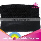 Lovebaby 9inch wholesale crochet tube top lined tutu top from yiwu factories