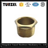 Brass male bronze threaded bushing