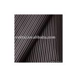 CVC65% Cotton ,35% polyester,45*45 ,140*76 yarn dyed stripe mercerized shirting fabric(high quality for business shirt)