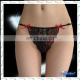 black lace lady sexy panty g-string briefs