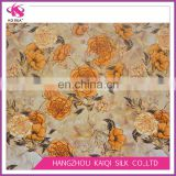 China Wholesale Silk Crepe de Chine Fabric Classic Floral Fabric Digital Print Silk Fashion Fabric for Woman Clothing 2017