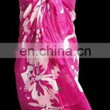 100% COTTON PRINTED SARONG PAREO BEACHWEAR FOR PROMOTION IN NEWSPAPER / MAGAZINE / WINE COMPANY / PHARMA COMPANY