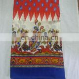 Women dress Printed Bhagalpuri Cotton Party Wear saree