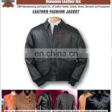 NEW!latest design Custom Size & Color dirty washed men leather jacket mens jacket leather