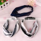 cotton yoga elastic hair band hair accessories korea style elastic headband women