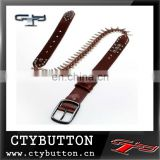 trendy belt bullet belt for women
