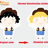 Self-adhesive Temperature Sensitive  Color Changing Sticker by ColorChangeStuff