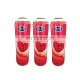 Hebei Custom scented eco-friendly air freshener cans 480ml