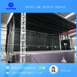 12 m  mobile stage truck trailer of   roadshow